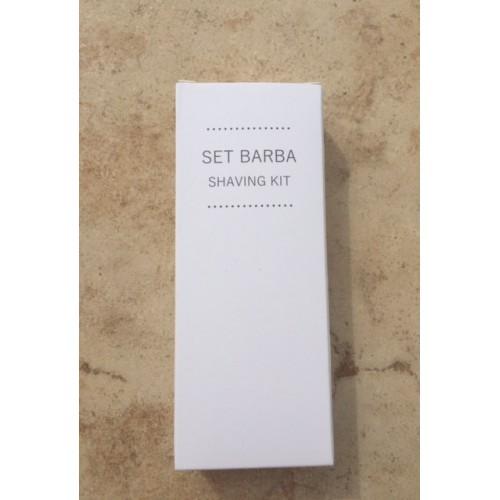 SET BARBA WHITE IN ASTUCCIO