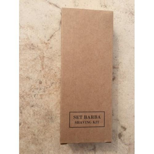 SET BARBA IN ASTUCCIO BROWN