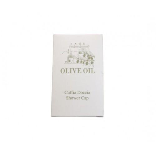 CUFFIA DOCCIA OLIVE OIL IN BOX