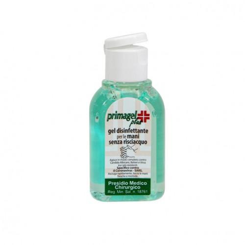 Gel disinfettante mani - Presidio medico chirurgico. 10 Flaconcini da 50 ml