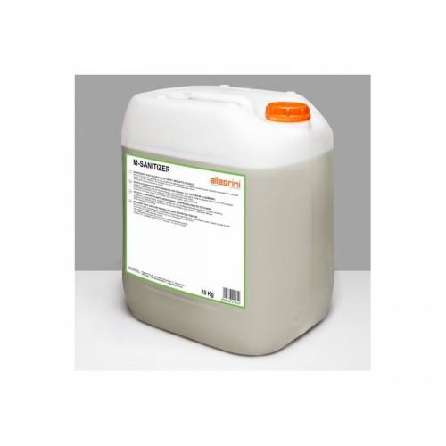 Detergente igienizzante M-SANITIZER post-detersione per tessuti, tappeti, moquette, tende - Tanica 10 kg