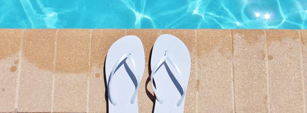 Infradito per spa e piscine